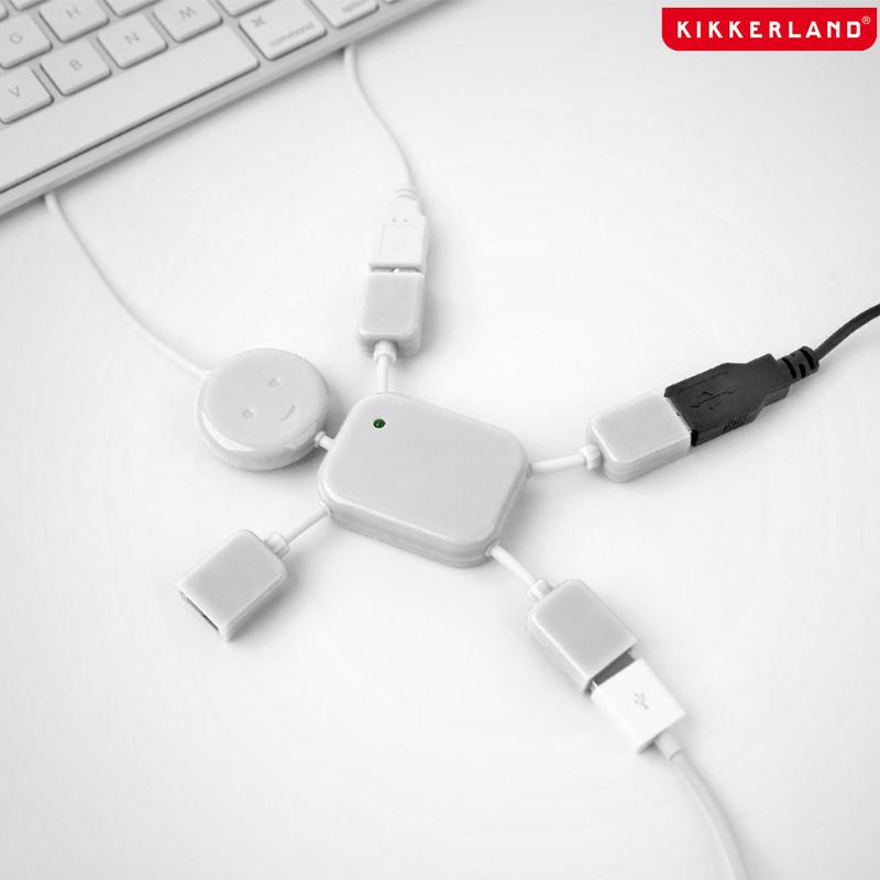 4 Port USB Hubman