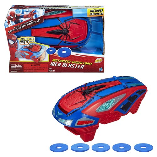 The Amazing Spiderman 2 Motorised Spider Force Web Blaster