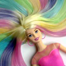 34% off on Barbie Rainbow Hair Doll | OneDayOnly.co.za