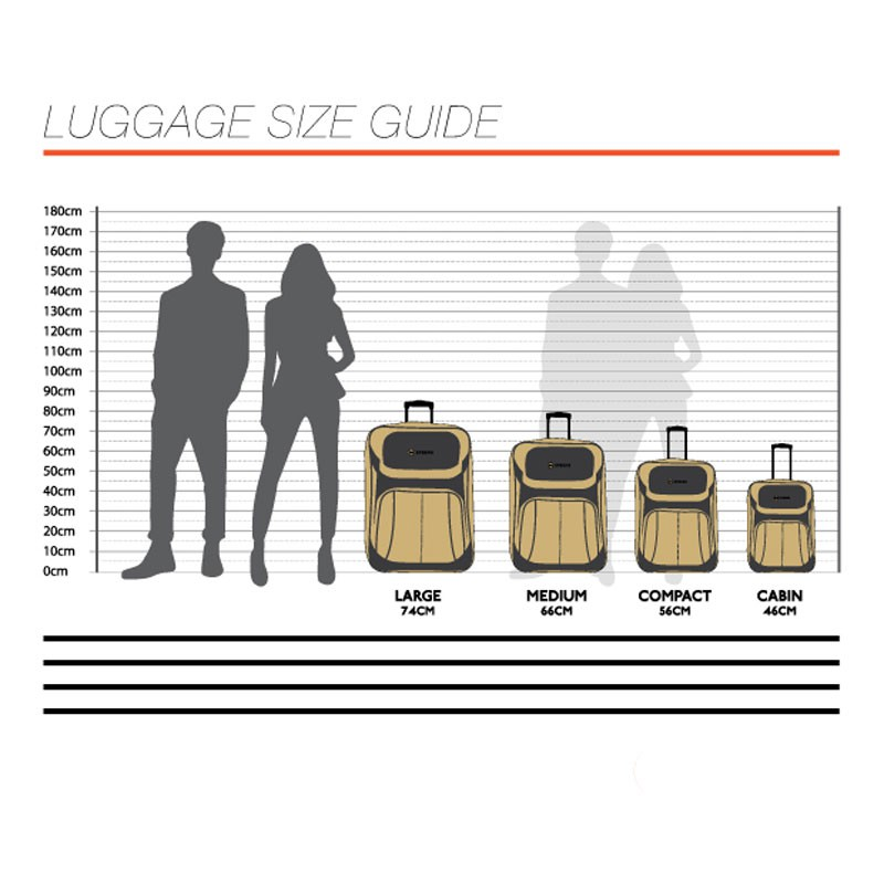 43 off on tosca 70cm airmax pp injection trolley cases