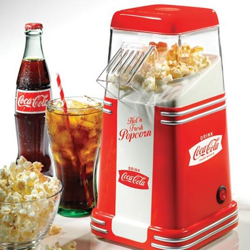 Coca Cola Mini Hot Air Popcorn Maker