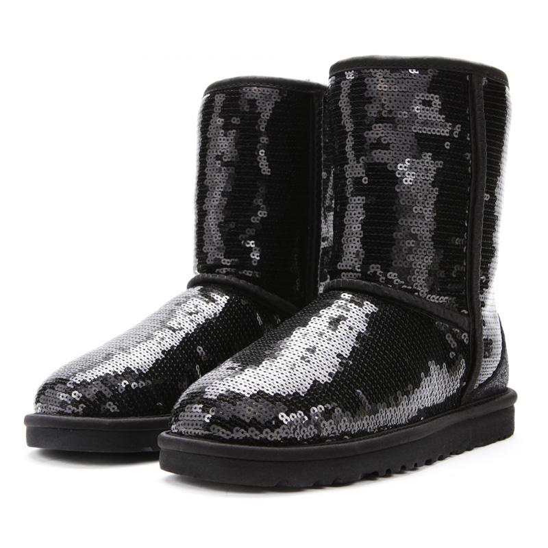 ugg boots black size 4
